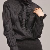Pattern 545 Fitted Shirt with Jabot Frill