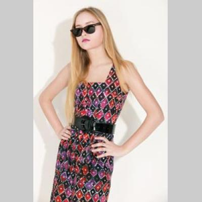 Pattern 783 Square Neck, Front Buttoning Sun Dress