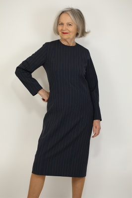 Pattern 725 Panel Dress with Sleeves (Block)