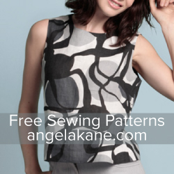 Angela Kane Free Sewing Patterns - Learn to Sew 250x250
