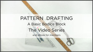 Poster picture for Flat Pattern Drafting Sewing Video