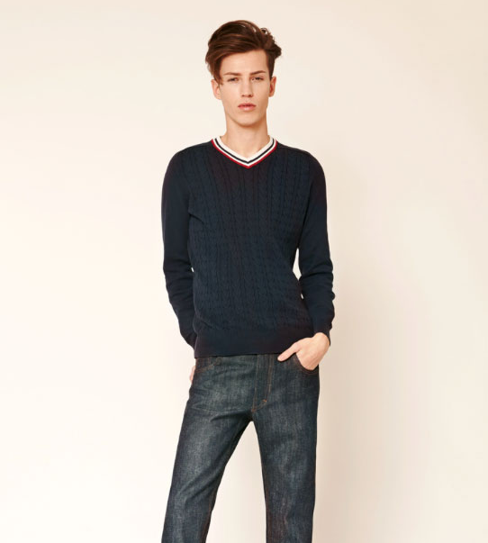 Image of Sewing Pattern for Men's Jeans