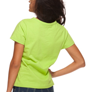 Photo of Classic T-Shirt Sewing Pattern. PDF Sewing Pattern 1501. Back view.