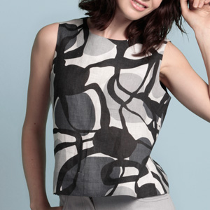 Photo of Sewing Pattern, the Sleeveless Top, PDF Sewing Pattern Download 532