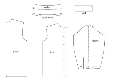 Classic Shirt Pdf Sewing Pattern By Angela Kane