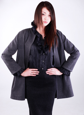 Photo of the Soft Style Jacket PDF Sewing Pattern 615, downloadable sewing pattern