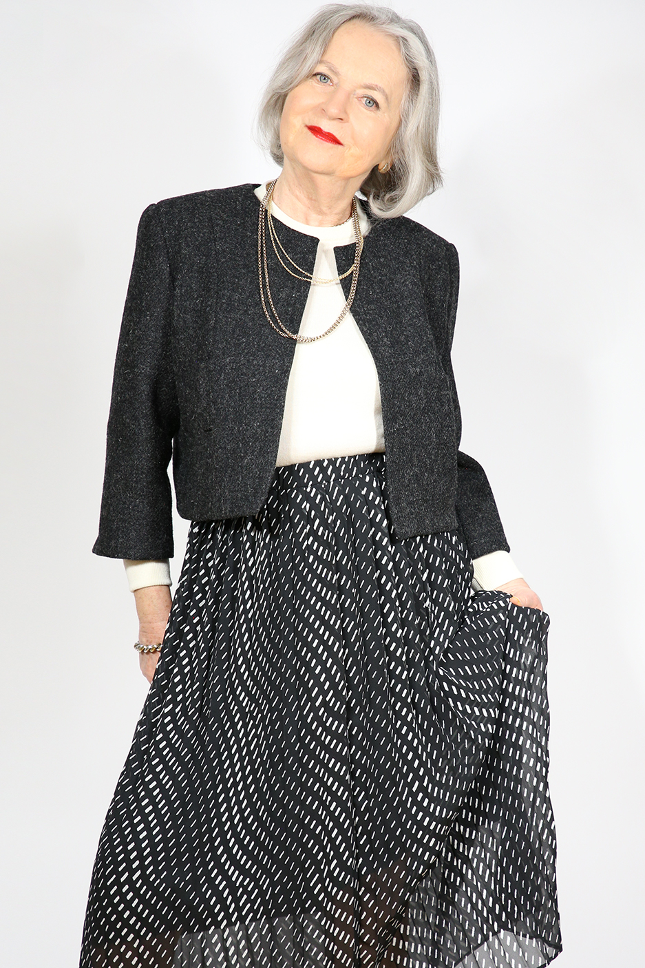 Sewing Pattern Boxy Chanel Cut Jacket from Angela Kane