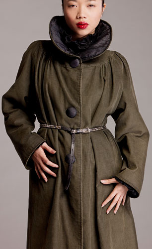 Photo of Sewing Pattern the Yoked & Gathered Coat, On Line Downloadable PDF Sewing Pattern 673