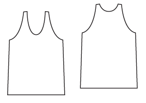 Sewing Patterns - A Classic Jersey Vest PDF Sewing Pattern from Angela Kane - Sewing for Beginners