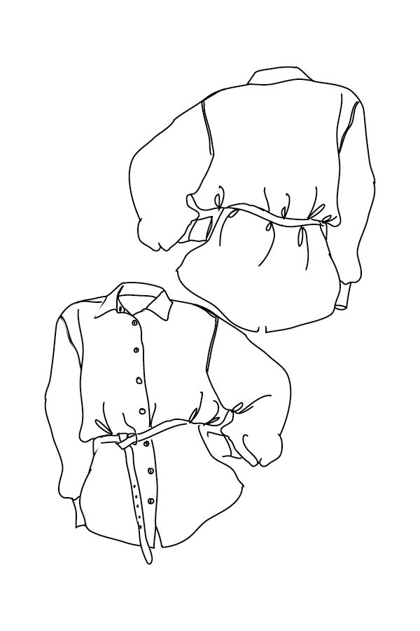Sewing A Silk Shirt Shirt Sewing Pattern Make A Crisp White Shirt