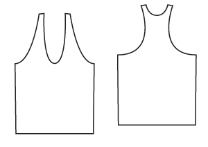 Sewing Patterns - A Jersey Vest PDF Sewing Pattern from Angela Kane - Sewing for Beginners