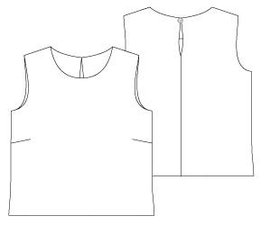 Free Pdf Sewing Patterns The Pinafore Dress Pattern The