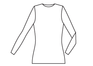 Sewing Patterns - Slim Fit Jersey T-Shirt PDF Sewing Pattern by Angela Kane